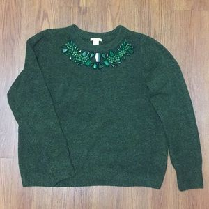 H&M Green Sweater